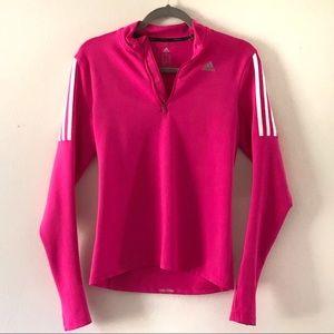 Hot pink, track shirt